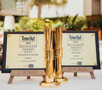 Il Borro Tuscan Bistro Dubai recognized as Best Restaurant by Time Out Dubai Restaurant Awards